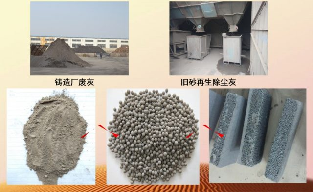 Casting Waste Ash Recycling