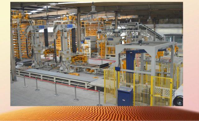 Germany Masa Filter Brick Production System