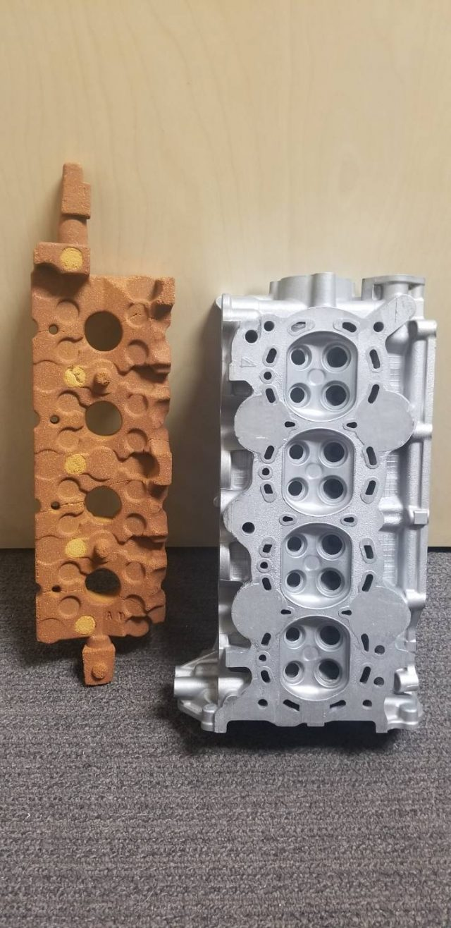 Sand Mold and product